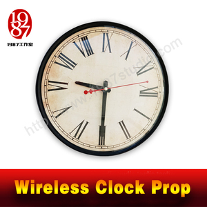 Wireless clock prop