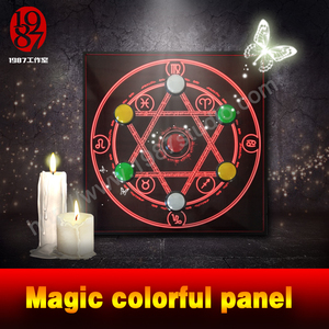 Magic colorful panel - big button version escape room puzzles from jxkj1987