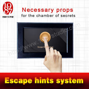Escape hints system-to tell players how to work out puzzles room escape prop JXKJ1987