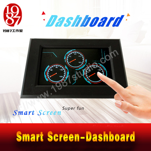 Smart Screen-Dashboard--make the pointer of the dashboard to the right scale