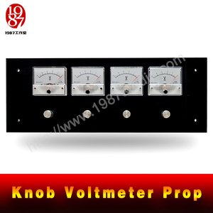 Knob Voltmeter Prop-escape room prop rotate the voltmeter to right position to unlock