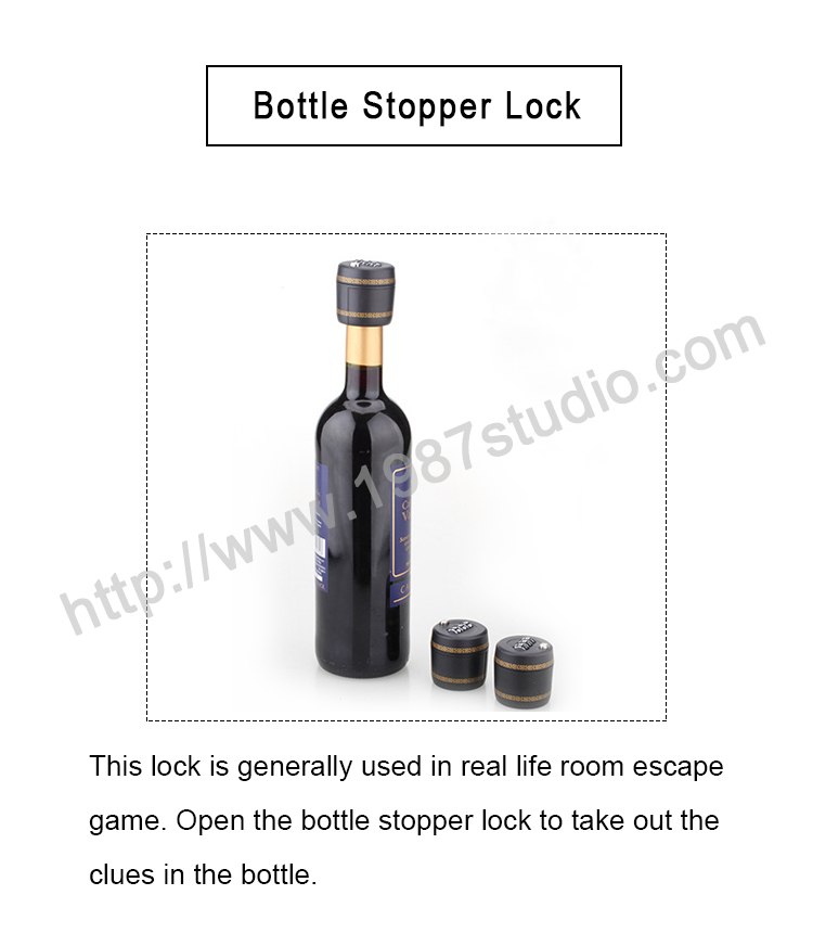 Bottle Stopper Lock