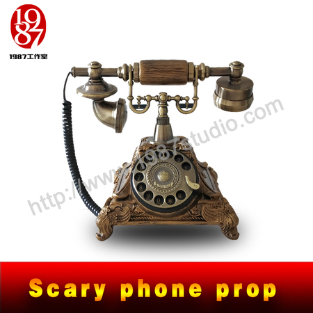Scary phone prop