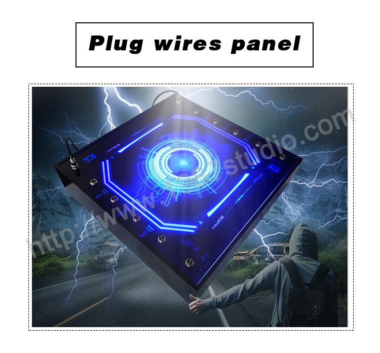 plug wires panel