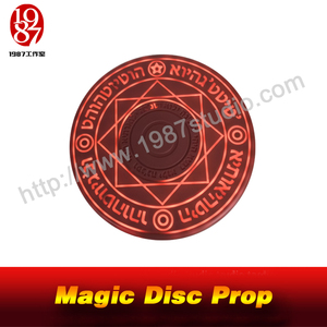 Magic Disc Prop-Put a RFID Card in the Middle of the Magic Disc It Will be Lighted Up