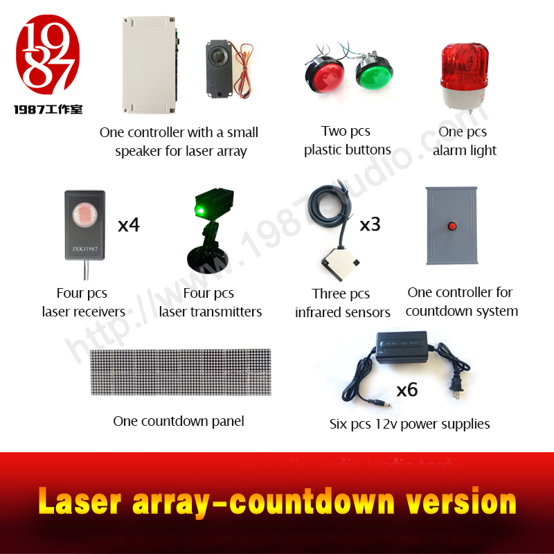 Laser Array Countdown Version 1987 Studio Escape