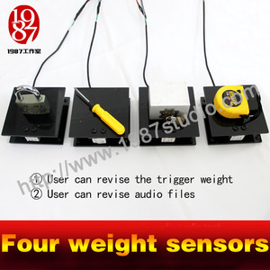Four Weight Sensors