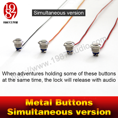Metal Buttons-Simultaneous Version