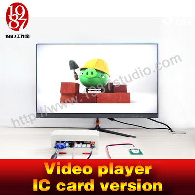 Video player-IC card version