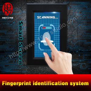 Smart Screen-Fingerprint identification system