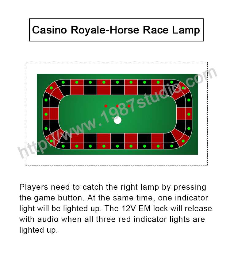 Casino Royale-Horse Race Lamp