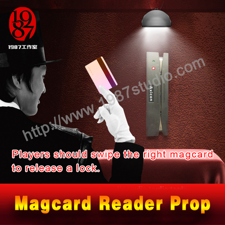 Magcard Reader Prop---escape room prop to unlock  from JXKJ1987