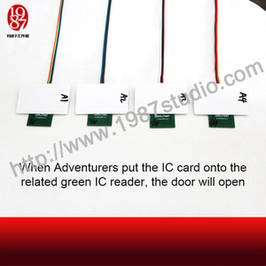 Four RFID cards Electronics